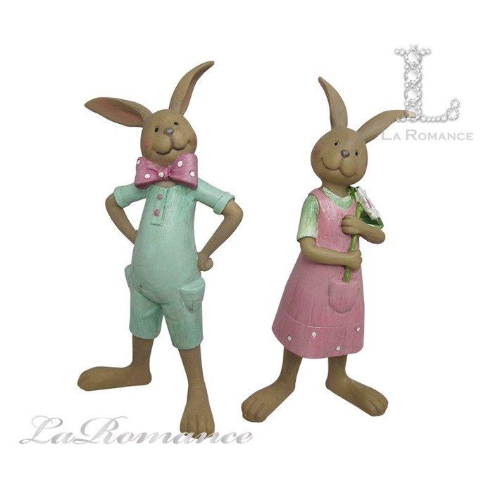 【芮洛蔓 La Romance】 德國 Heidi 童趣家飾 - 情侶兔擺飾 (兩款) / 童趣動物 / 小孩、兒童房