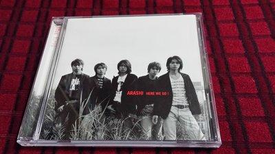 R日語(二手CD)嵐~ARASHI HERE WE GO!~雙歌詞~(字)