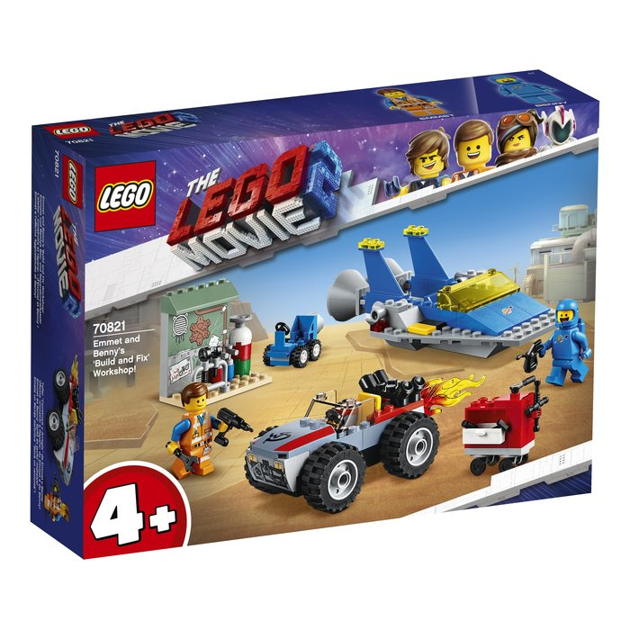 【鄭姐的店】樂高 70821 LEGO MOVIE 系列 - Emmet and Benny's 'Build and