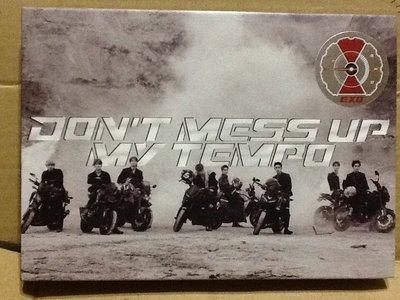 ~拉奇音樂~ EXO / DON'T MESS UP MY TEMPO 二手保存良好片況新。1。