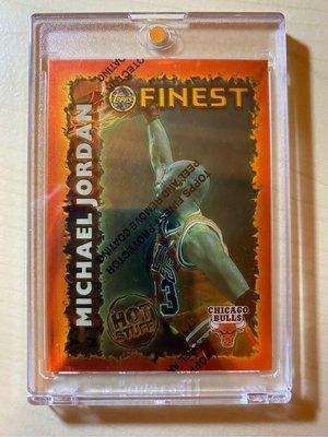 1996-97 Topps Finest Michael Jordan Hot Stuff #HS1 不含殼
