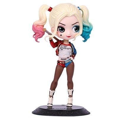 @幸福小鋪BANDAI萬代Qposket公仔DC漫畫 小丑女哈莉奎茵 人偶收藏手辦