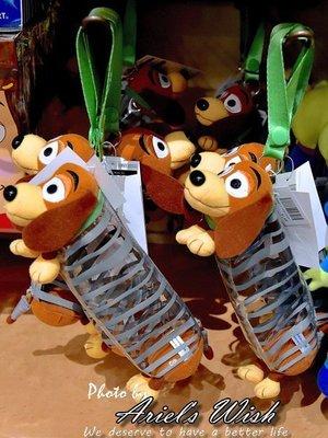 Ariel's Wish-日本Tokyo東京迪士尼Disney玩具總動員-彈簧狗立體造型鉛筆盒筆袋收納袋化妝包-現貨*1