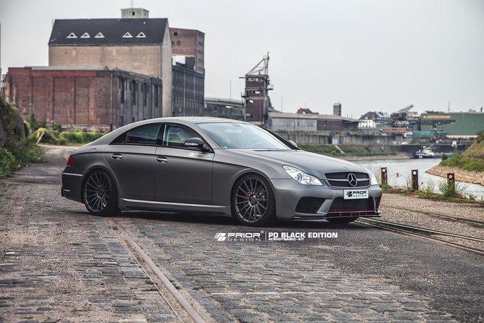 【樂駒】PRIOR DESIGN Black Edition Aerodynamik Mercedes CLS W219