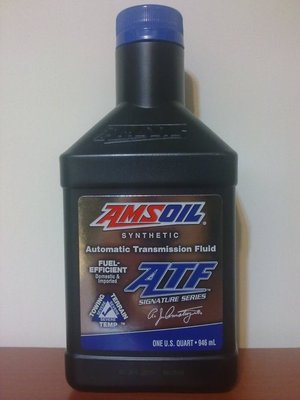 〝機油便利站〞『公司貨』【AMSOIL】ATF FUEL-EFFICIENT 全合成變速箱油