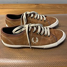 Fred Perry 男裝啡色猄皮Casual shoes Size : EU39 UK6 US7