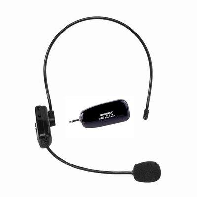 2.4G無線麥克風教師擴音器小蜜蜂耳麥舞臺演出音響藍牙頭戴式話筒