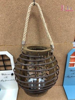 ☆[Hankaro]☆鄉村風燈籠造型居家掛飾(樣品出清)