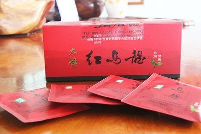 【茶包禮盒】大峰有機茶園-台東有紅烏龍茶包手提禮盒-600元(特價)原價650元/30包入【價格含提袋禮盒】