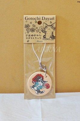 wachifield-dayan(瓦奇菲爾德,達洋)~全新限定品貓咪真皮手機吊飾(當地達洋)~G2東京
