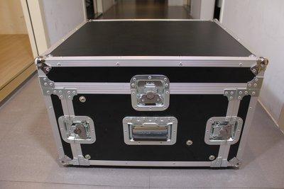 【六絃樂器】全新航空瑞克箱 6U 混音器三開機櫃 / 舞台音響設備 專業PA器材
