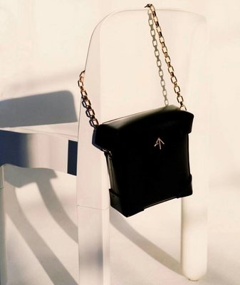 ╭☆包媽子店☆土耳其潮牌MANU Atelier Micro Pristine Box Bag 信差包側背包拼色~薄荷綠