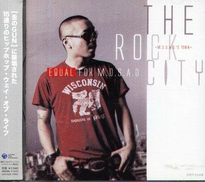 八八 - Equal - The Rock City M.O.S.A.D s Town - 日版 CD  E-qual