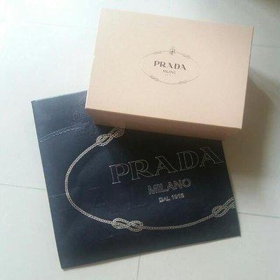 名牌Prada 紙袋鞋盒 paper bag shoes box packing packaging (面交)