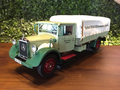 1/18 CMC Mercedes-Benz LO 2750 Truck with tarpaulin【MGM】