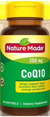 JadeDragon旗艦~美國Nature Made天維美輔酶Q10軟膠囊200mg心臟保護原裝40粒