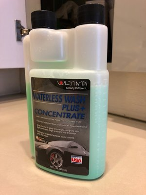 Ultima Waterless Wash Plus+ Concentrate (無水洗車濃縮液)