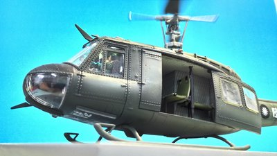 陸軍UH-1H直昇機老兵系列1/144~1/35模型代工2900起不含料件可選機號(請先連繫存貨情形)  代工