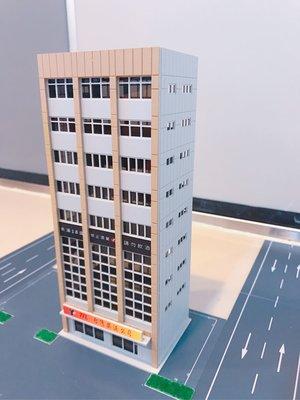 1:64 、1:150 N規、1:144比例 台灣菸酒公司 塑料 拼裝模型樓房 現貨