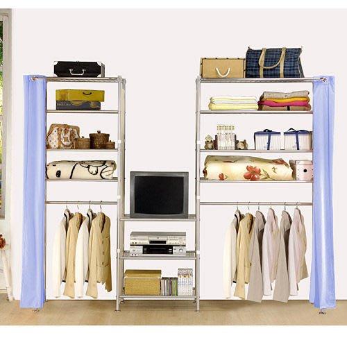 【中華批發網DIY家具】D-59-02-W4型60+60+90公分置物架---可升級成完全防塵置物架
