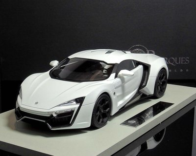 【MASH】現貨特價 Top Marques 1/18 Lykan Hypersport 2014 白