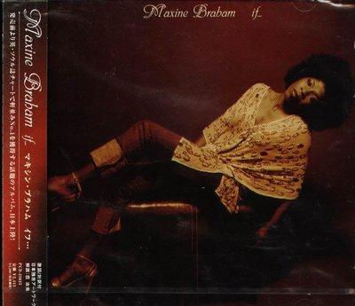 K - Maxine Braham - If ...  - 日版 - NEW