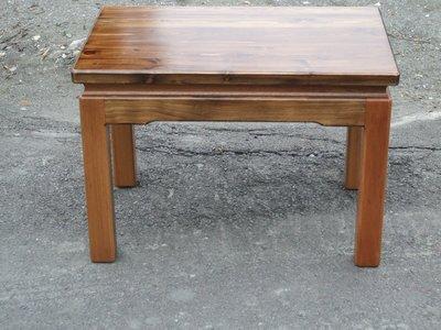 C003 {崙頂傳統原木家具行}~杉木小桌  買多張有優惠 接受訂做.訂色 有現貨 免運