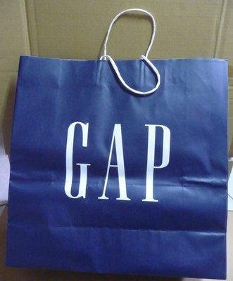 GAP 紙袋 手提袋 紙提袋 44.5x45x17.5cm