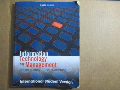 Information Technology Management 作者:Efraim Turban,2011八版