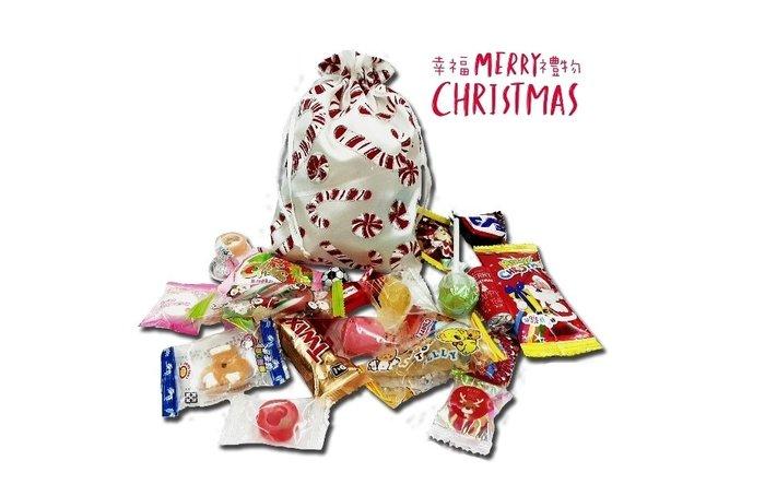 銀色聖誕糖果袋(20顆隨機糖果) 每袋100元/娃娃屋樂園幸福禮物婚禮小物~聖誕節禮物/耶誕節糖果/聖誕糖果/送客糖果