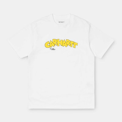 【Shopa】預購 Carhartt WIP 2020 春夏 Loony Script 卡通 logo 短袖 T恤 白