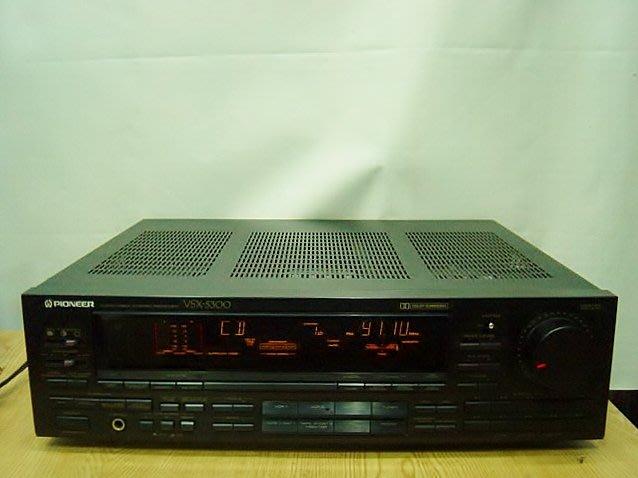 保固3個月【小劉二手家電】日本製PIONEER 環繞音效FM擴大機,VSX-5300型,壞機可修理/回收!