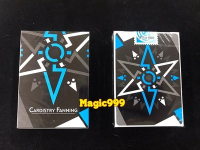 [MAGIC 999] 魔術道具 紙牌系列 花切 Cardistry Fanning Playing Cards 藍色