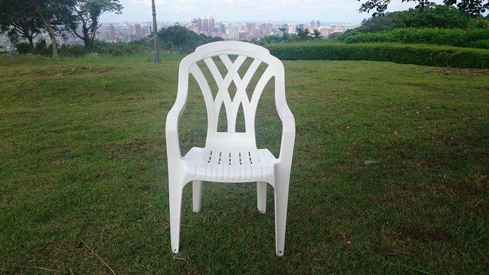 兄弟牌白色塑膠椅340元/張~餐椅,白色塑膠椅,收納椅(高背設計腳底加止滑墊),物美價廉-BROTHER健康休閒生活館