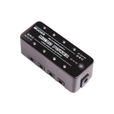 ☆ 唐尼樂器︵☆ Mooer Micro Power 電吉他/電貝斯單顆效果器電源供應器
