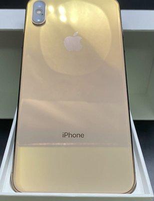 【自售 leo458】iPhone XS Max 256G金色台灣原廠公司貨送全新皮套 防摔殻11 12 Pro