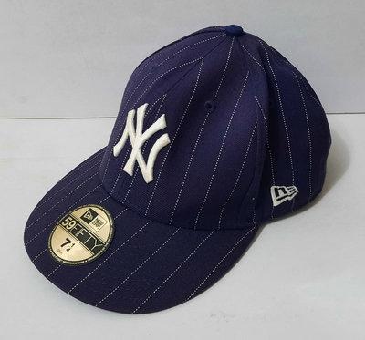 Genuine Merchandise NEW ERA 59FIFTY MLB NY 紐約洋基隊 棒球帽(58cm)