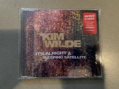 Kim Wilde it's all right & sleeping satellite 單曲 CD