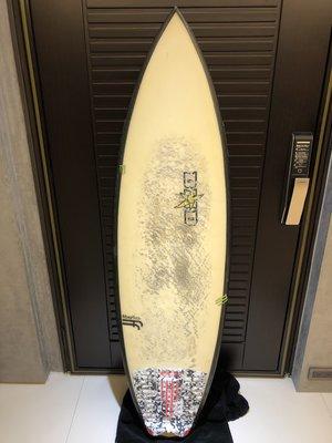 DHD SWITCH BLADE FF/EPOXY衝浪板 - 2手狀況良好機會難得!!