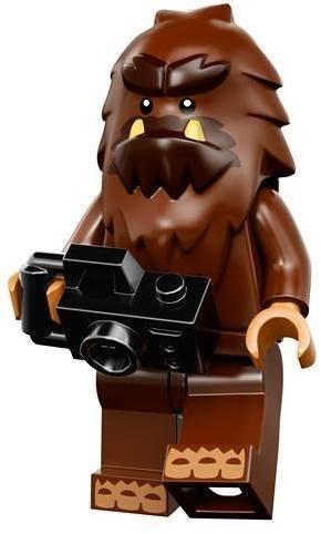 現貨【LEGO 樂高】益智玩具 積木/ Minifigures人偶系列: 14代人偶包抽抽樂 71010   大腳