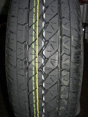 普利司通BRIDGESTONE 205/65/15 R600 貨車胎 $2650含裝