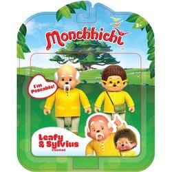 蒙奇奇 Monchhichi人偶公仔-LEAFY & SYLVIUS 雙人組