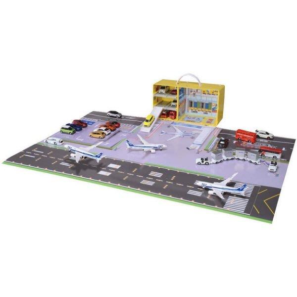 [Child's shop]  TOMICA交通世界 機場地圖提盒_TW13219