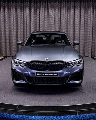 預定特價**德國BMW原廠G20 G21 3er鑽石菱格高亮黑水箱罩滿天星 M Performance DIAMOND