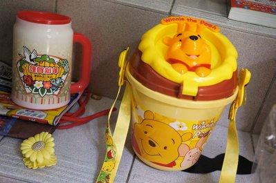 收集品出清650*東京迪士尼樂園 disney land 絕版 小熊維尼 POOH 爆米花桶