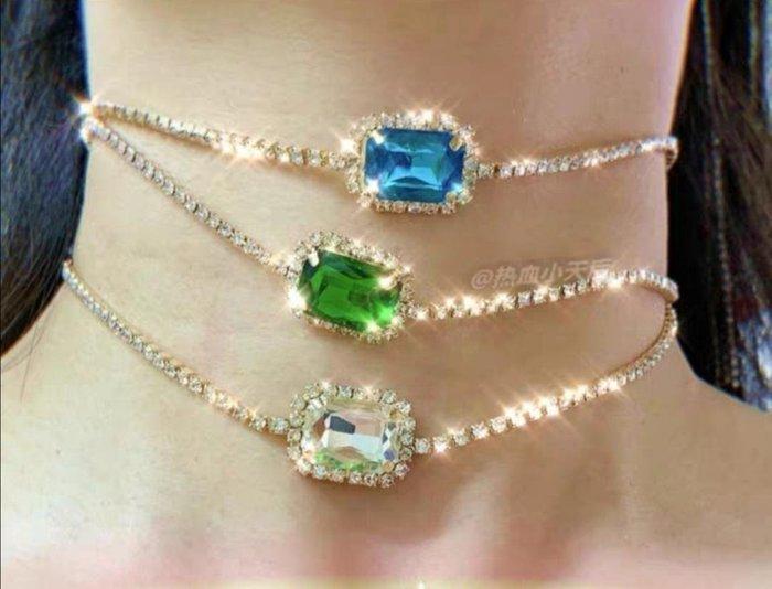 禮物水晶閃亮項鍊