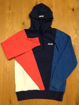 Palace Skateboards Section Hood 幾何 粉紅 帽T 現貨 S