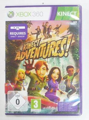 XBOX 360 Kinect 大冒險 (中文版)**(二手片-光碟約9成新)【台中大眾電玩】