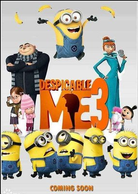 Despicable Me 神偷奶爸3 小黃人 1DVD 高清 國英粵發音