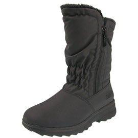 丹大戶外【ESKT】女中統雪鞋/雪靴/附有簡易冰爪/內刷毛/雪地行走必備品/台灣製 SN192 黑